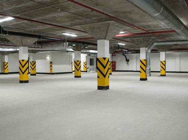 Подземная парковка на Александровской площади заработала в Ставрополе