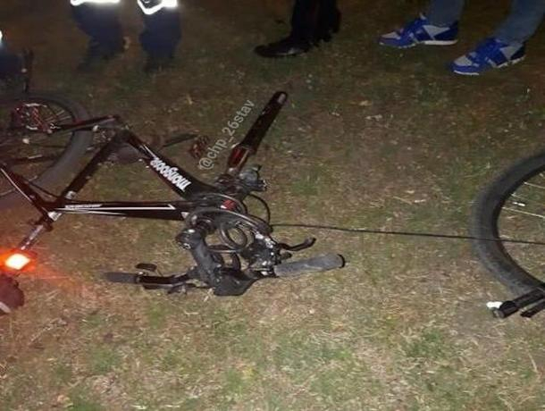 В Ставрополе водитель легковушки сбил велосипедистку