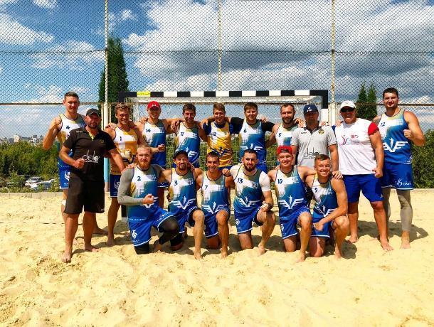 Ставропольские спортсмены победили действующих чемпионов страны по пляжному гандболу