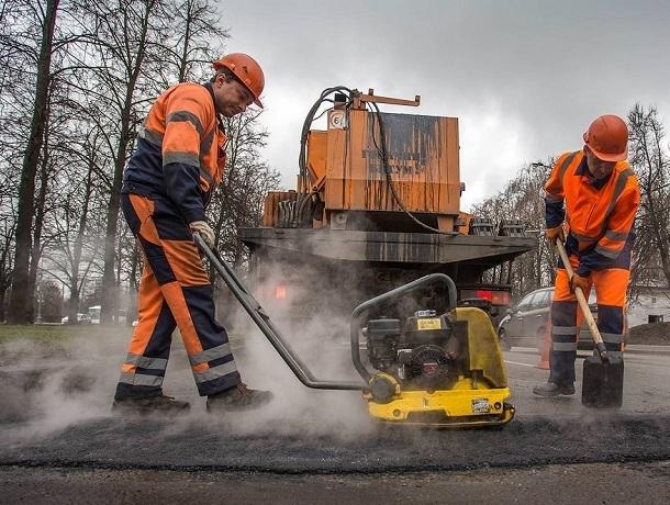 218 тысяч квадратных метров дорог отремонтировали в Ставрополе