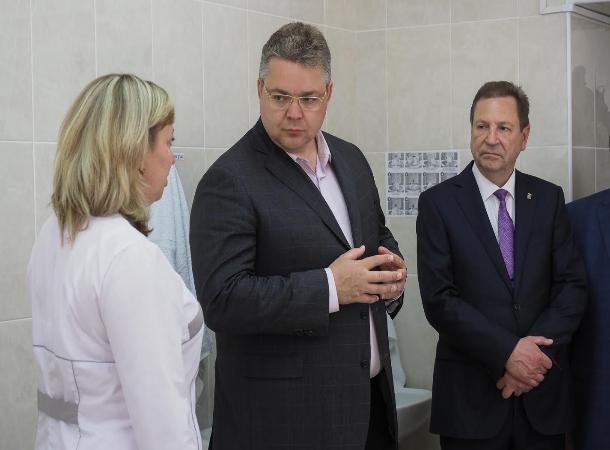 Вставропольском селе открыли новый медцентр стоимостью 30 млн руб.