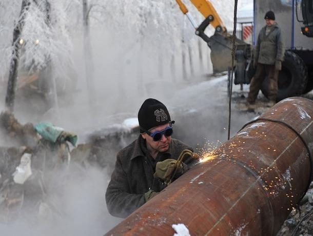 ВЕссентуках из-за прорыва теплотрассы без тепла остались 2 тысячи человек