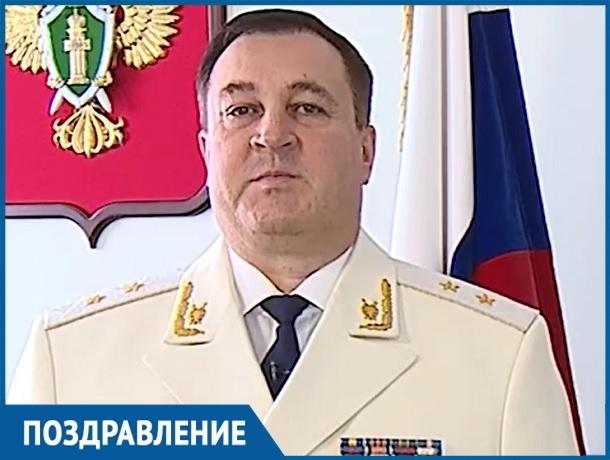 Прокурор Ставропольского края Анатолий Богданчиков поздравил коллег с профессиональным праздником