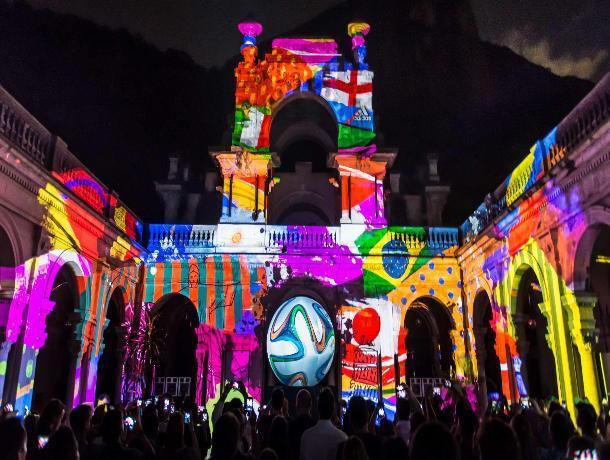 Новогодние праздники в Ставрополе откроет 3D мэппинг-шоу