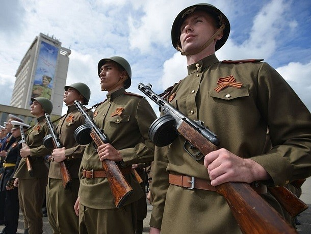 Полторы тысячи солдат поучаствуют в военном параде 9 мая в Ставрополе
