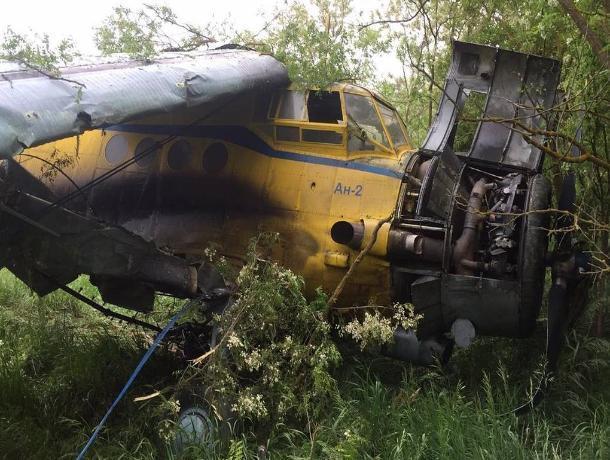 На Ставрополье самолет Ан-2 загорелся при взлете
