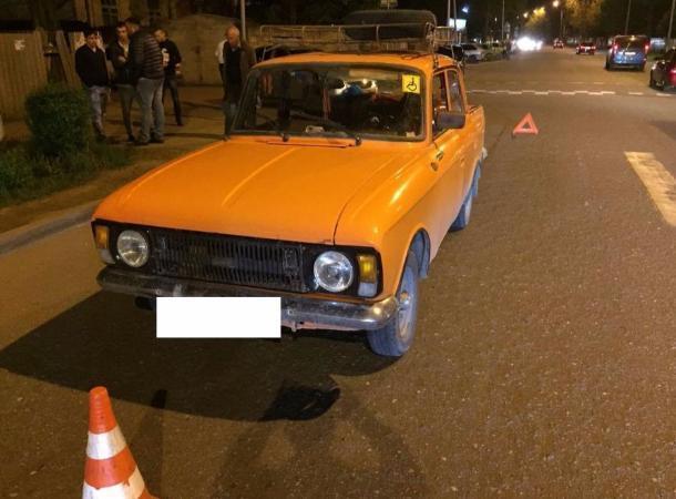 Сбитую машиной «Москвич» школьницу с переломами доставили в больницу в Пятигорске