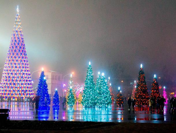 Ставрополь встречает старый Новый год