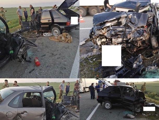 Из-за небезопасного обгона на Ставрополье два человека погибли в ДТП