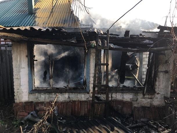 ccc0bfec91cf Один человек погиб при пожаре в частном доме на Ставрополье