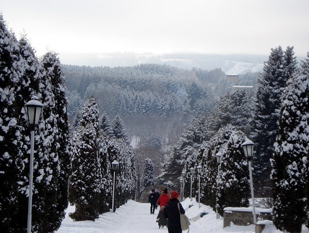 Кисловодск вошел в топ-5 городов для новогоднего отдыха