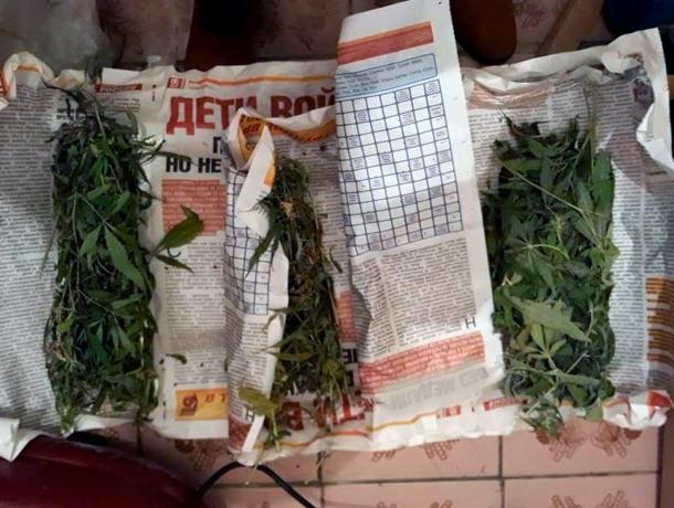 Марихуану, завернутую в газеты, обнаружили на Ставрополье
