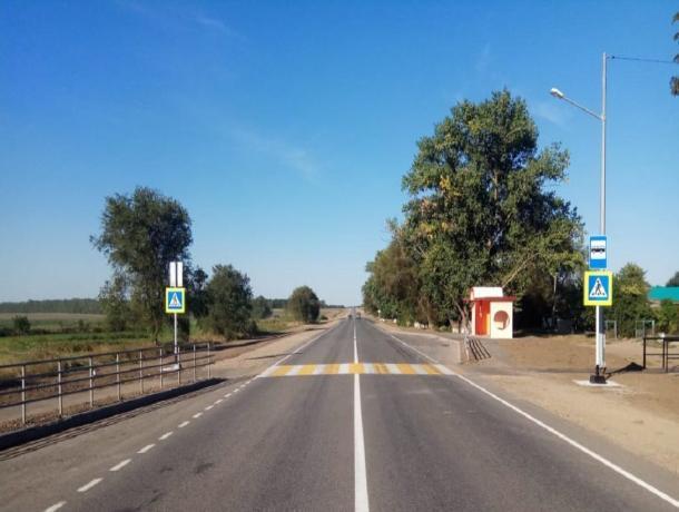 На Ставрополье установили более 1000 дорожных знаков