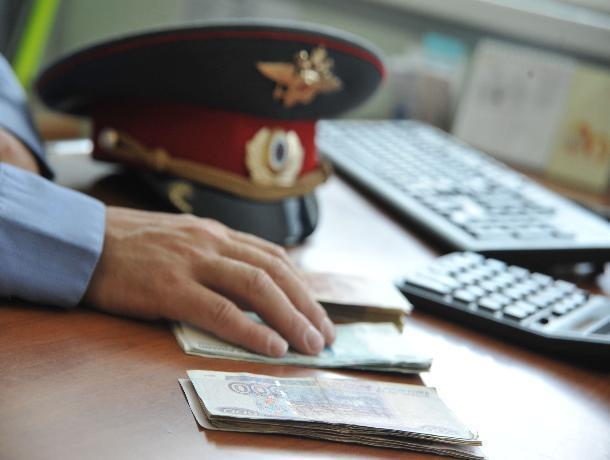 На Ставрополье полицейского оштрафовали на миллион рублей за получение взятки