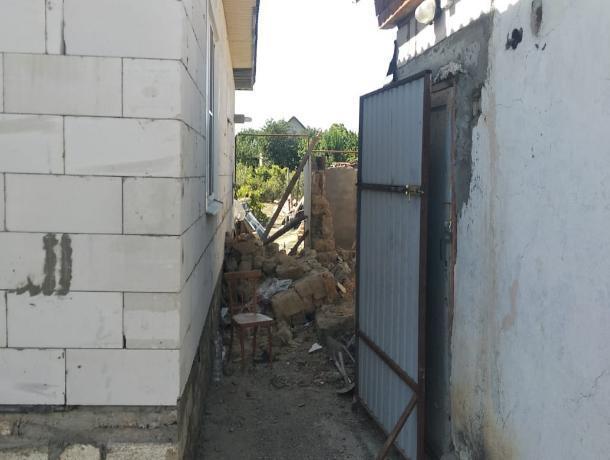 В Буденновске рухнувшая стена убила мужчину