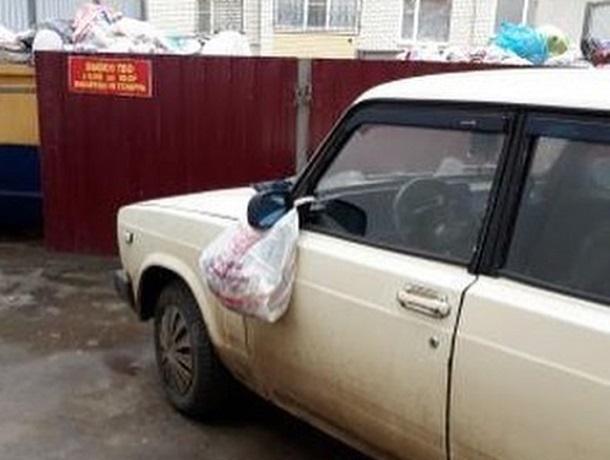 Класть пакеты с мусором на машины автохамов призвали коммунальщики Ставрополя