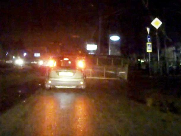 «Летающая» остановка чуть не убила человека в Ставрополе