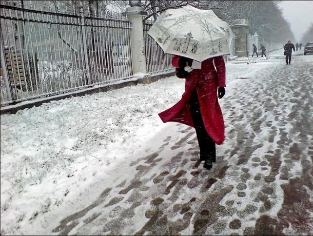 Мокрый снег с дождем ожидаются в четверг на Ставрополье