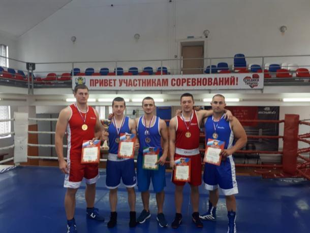 На Ставрополье прошли соревнования по боксу среди сотрудников полиции