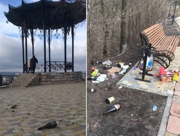 «Очень символично встретили год свиньи», - жители Пятигорска о замусоривших город вандалах