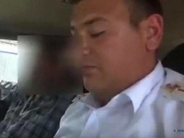 Пьяный водитель без прав на иномарке попал на видео на Ставрополье