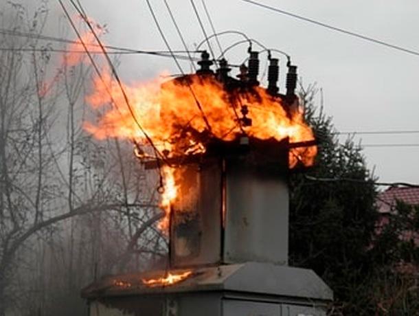 Хулиган поджог трансформаторную станцию в Михайловске