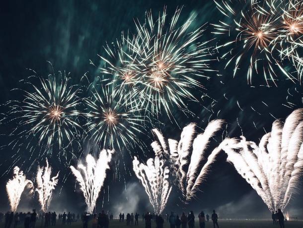 В Ессентуках завершился фестиваль фейерверков