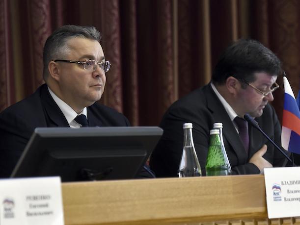 Ставропольский губернатор возглавил реготделение «Единой России»