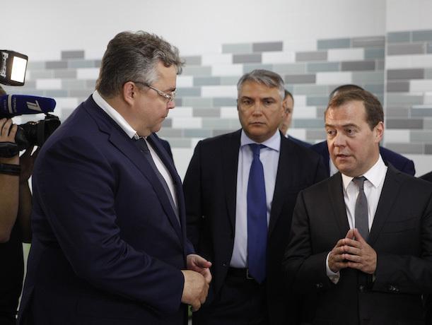 Глава Ставрополья рассказал Медведеву, что благодаря господдержке попал в другой мир