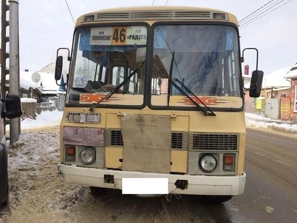 Женщину на пешеходном переходе сбил водитель ПАЗика в Ставрополе
