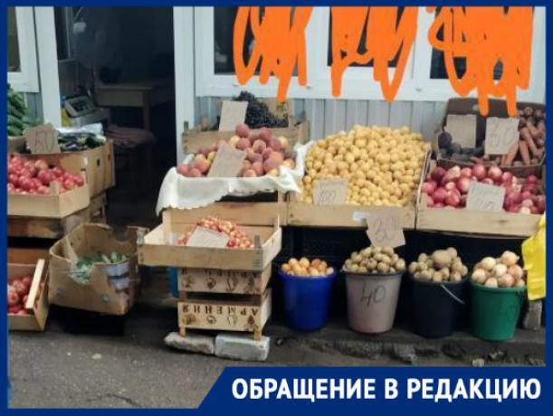 Жители Пятигорска пожаловались на стихийный рынок