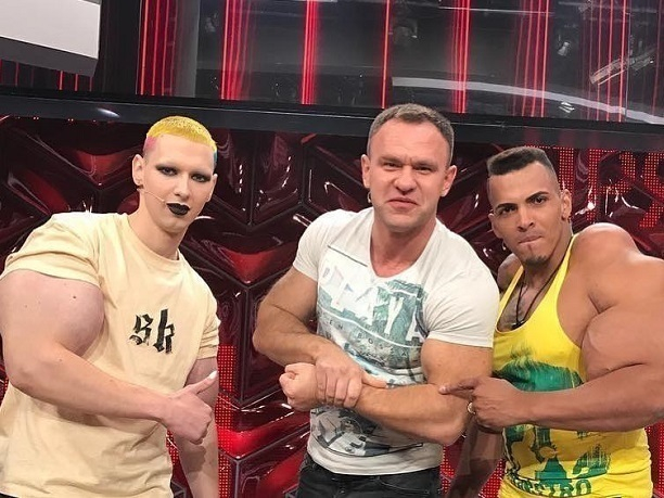 Кирилл Терешин встретился в «Прямом эфире» у Малахова со своим кумиром из Бразилии