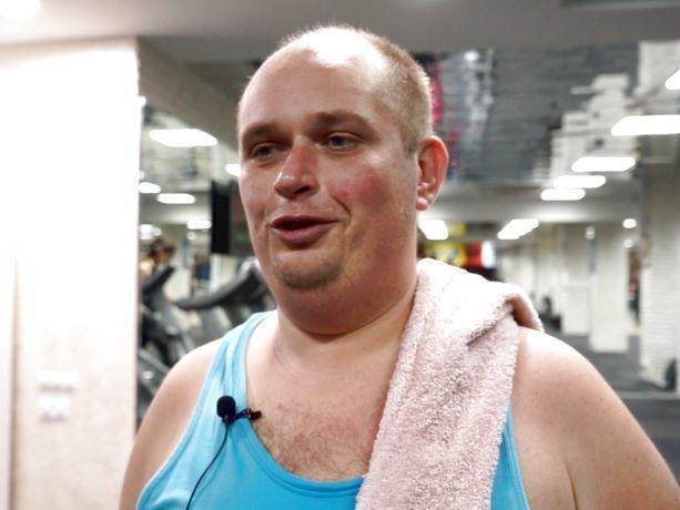 «На первой тренировке подумал, что сдохнем», - участник реалити-шоу Алексей Бунин