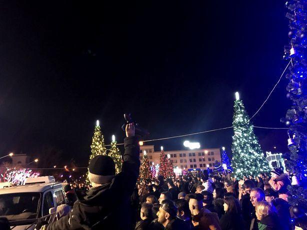 Новогодняя ночь в Ставрополе прошла без серьезных происшествий