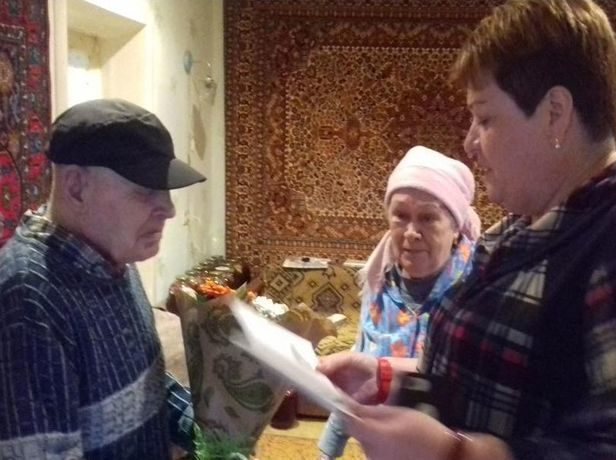 Президент Путин поздравил с юбилеем ветерана из Невинномысска