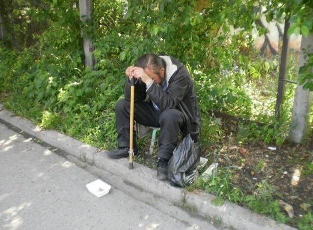 Судьба попрошайки беспокоит жителей Кисловодска
