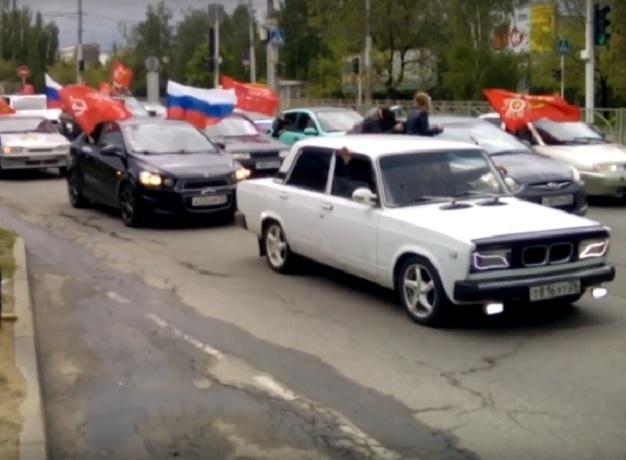 Традиционный автопробег коДню Победы охватит неменее ста населенных пунктов Ставрополья