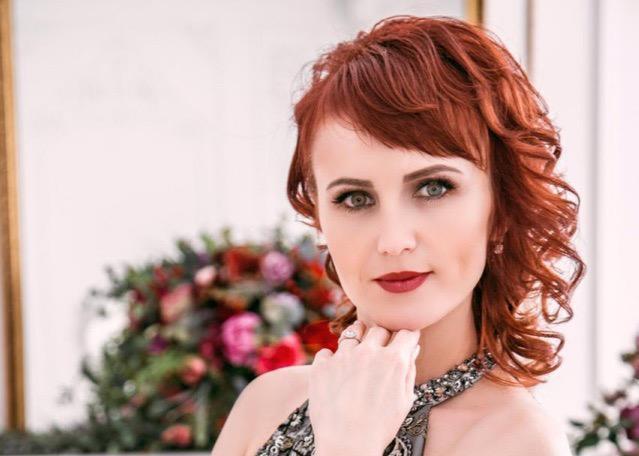 32-летняя Анастасия Гамазина в конкурсе «Мисс Блокнот-2019»