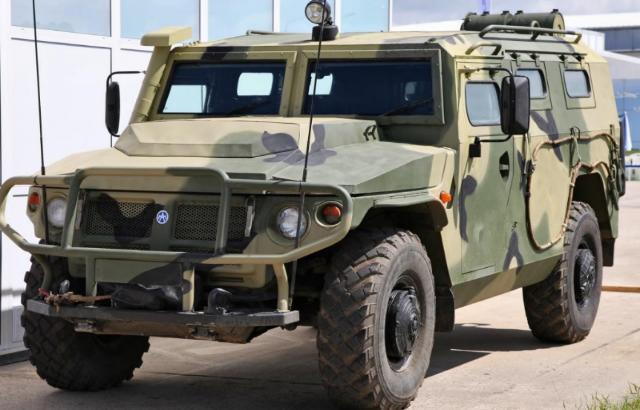 Новейшие бронеавтомобили появились у ставропольского спецназа