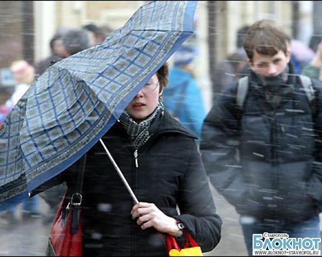 В ближайшие сутки на Ставрополье сохранится сильный ветер