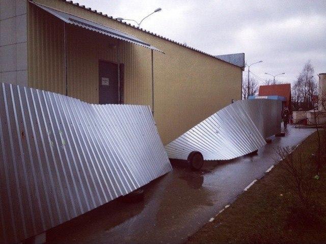 Ставрополь пострадал от урагана