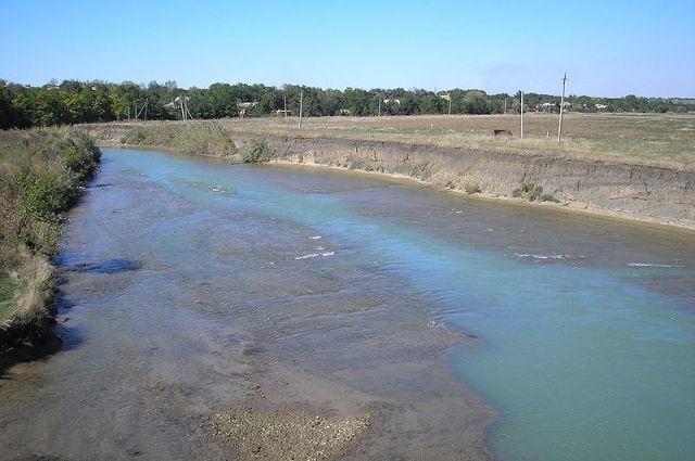 В реке Егорлык на Ставрополье ожидается подъем уровня воды из-за ливней