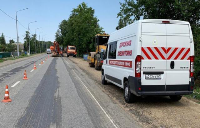Росавтодор проверил качество дорожного покрытия на Ставрополье