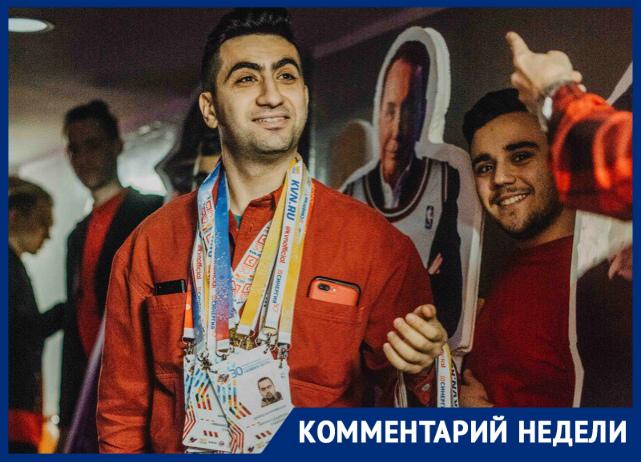 Руководитель команды КВН «Михаил Дудиков» Александр Шахназарян рассказал о подготовке к предстоящей игре в Высшей Лиге