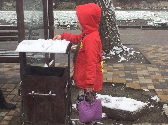 В Ставрополе в середине апреля выпал снег
