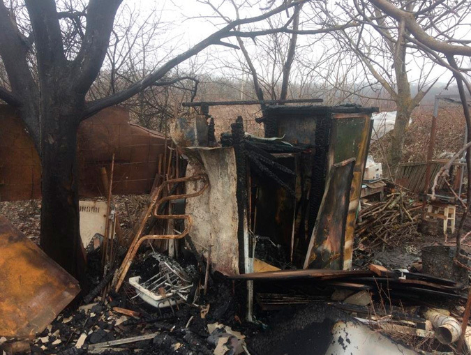 Один человек пострадал при пожаре в Ставрополе