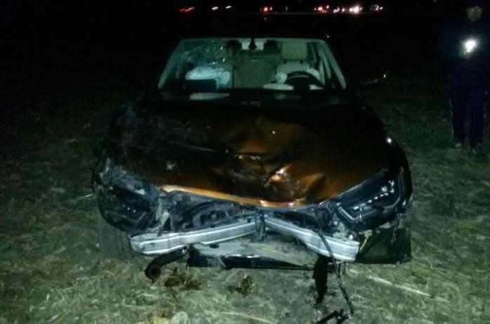 Водитель «Ауди А6» столкнул в кювет «Вольво» и уехал с места ДТП - пять человек пострадали