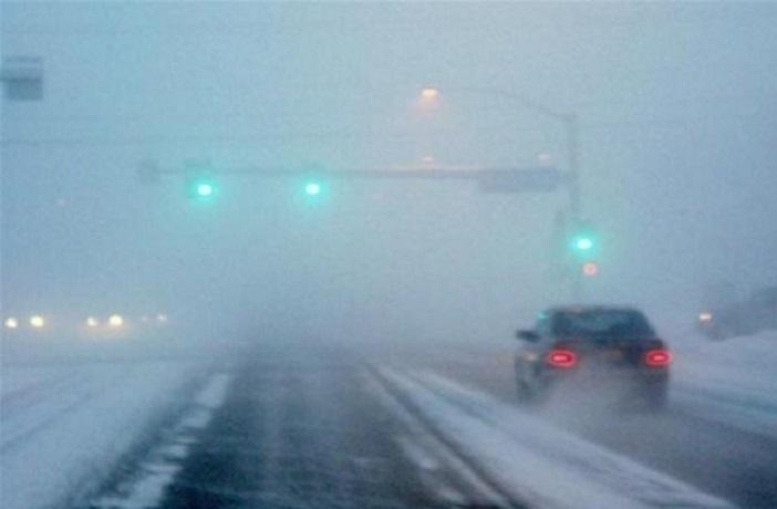 Снегопад наСтаврополье осложнил обстановку на трассах — ГИБДД