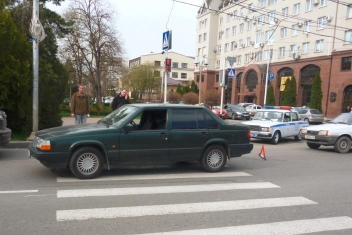 В Ставрополе на пешеходном переходе сбили ребенка