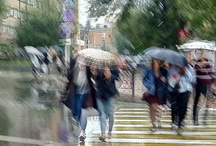 Последний рабочий день недели в Ставрополе будет дождливым